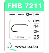 FHB 7211-barbless