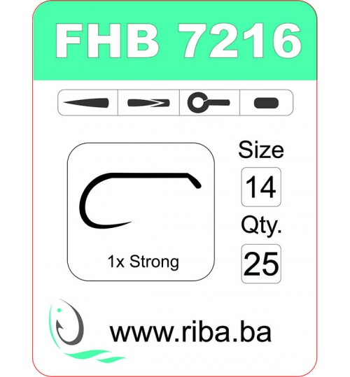 FHB 7216-barbless