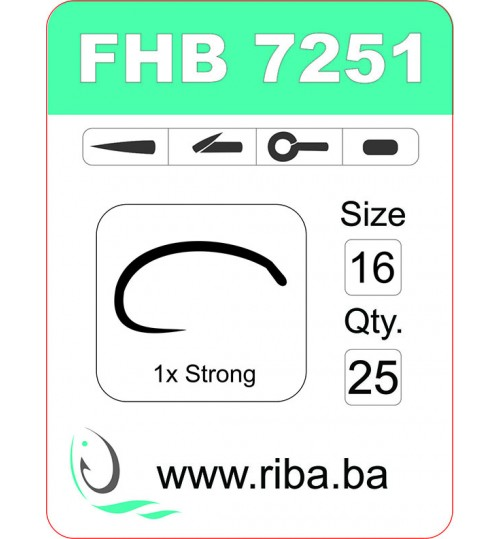 FHB 7251-barbless
