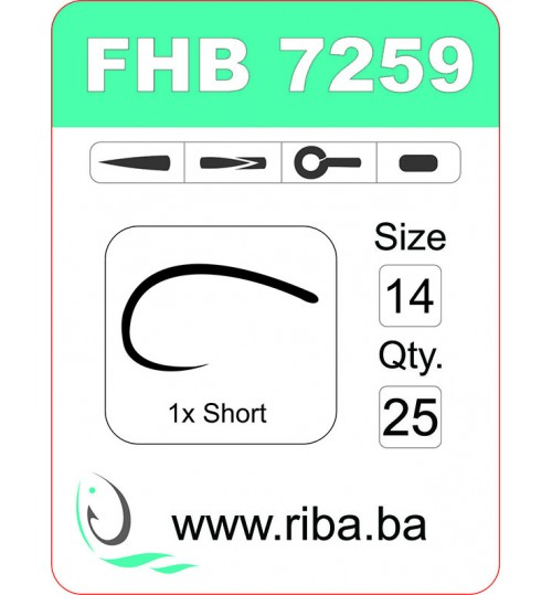 FHB 7259-barbless